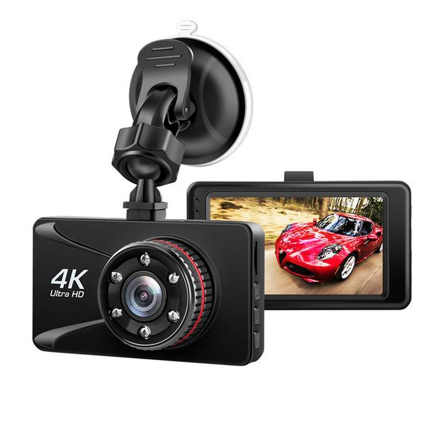 Car DVR Camera 3 Inch 4k Dash Camera