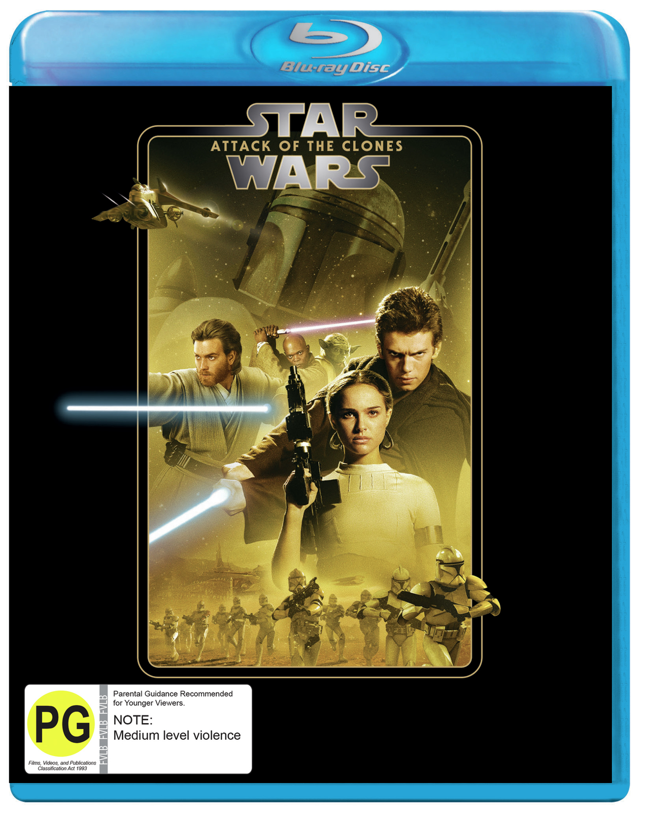 Star Wars: Episode II - Attack of the Clones on Blu-ray image