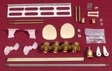 Running Hardware Kit for 1210 (USCG 40' Utility)