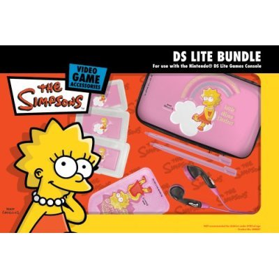 The Simpsons Officially Licensed DS Lite Bundle - Lisa for Nintendo DS