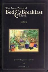 New Zealand Bed and Breakfast Book: 2009 image