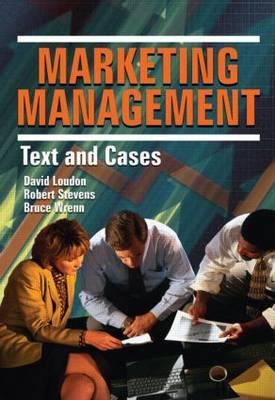 Marketing Management by Robert E Stevens image