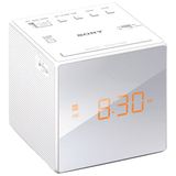 Sony Radio Single Alarm Clock - White