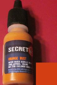 Secret Weapon Acrylics: Rust Orange image