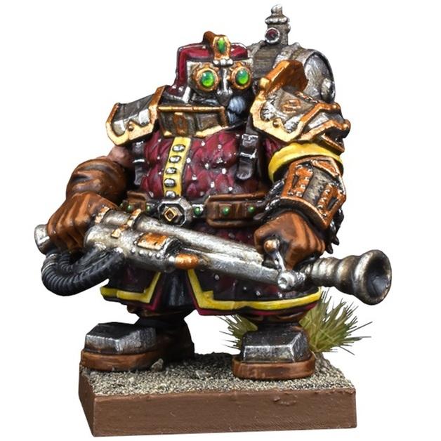 Kings of War Vanguard: Dwarf Support Pack Flame Priest