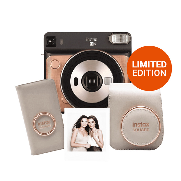 Instax: Fujifilm SQUARE SQ6 Limited Edition Deluxe Pack - Blush Gold