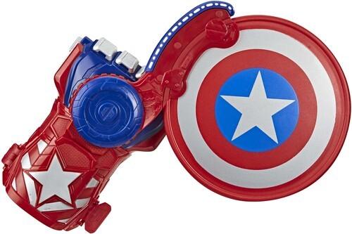 NERF Power Moves: Marvel Avengers Kids Roleplay - Captain America Shield Sling