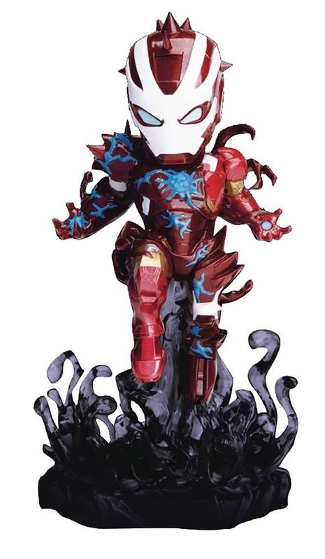 """Maximum Venom: Venomized Iron Man - 5"""" Mini-Figure"""