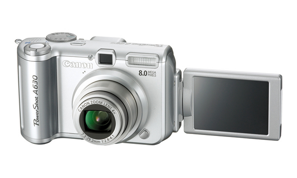 Canon A630 8Mp 4X Optical Digital Camera