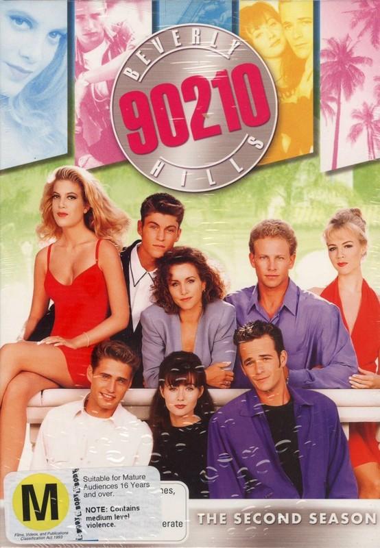Beverly Hills 90210 - Season 2 (8 Disc Box Set) on DVD