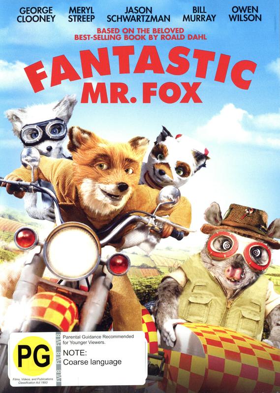 Fantastic Mr. Fox on DVD