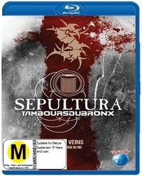 Sepultura: Metal Veins Alive at Rock in Rio on Blu-ray