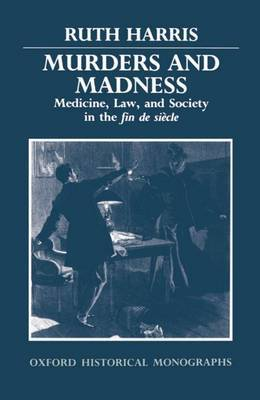 Murders and Madness by Ruth Harris image