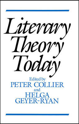 Literary Theory Today image