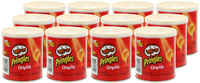 Pringles Grab & Go Small Original 37g 12 pack