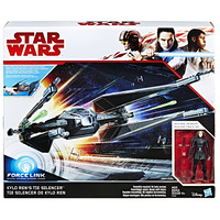 Star Wars: Force Link Figure - Kylo Ren & Tie Silencer 2 Pack image