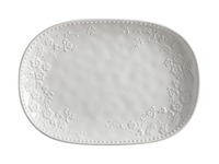Maxwell & Williams - Royal Botanic Garden Euphemia Henderson Oblong Platter White (40cm)