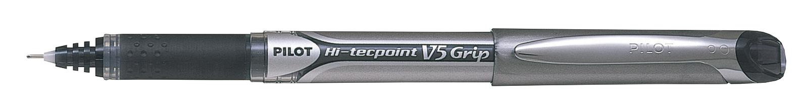 Pilot Hi-Tec V5 Grip Extra Fine Tip Rollerball Pen - Black image