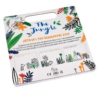 Jungle Colouring And Activity Book image