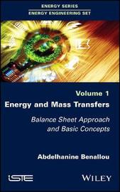 Energy and Mass Transfers by Abdelhanine Benallou image