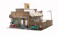 Woodland Scenics HO Scale - Deuce's Bike Shop