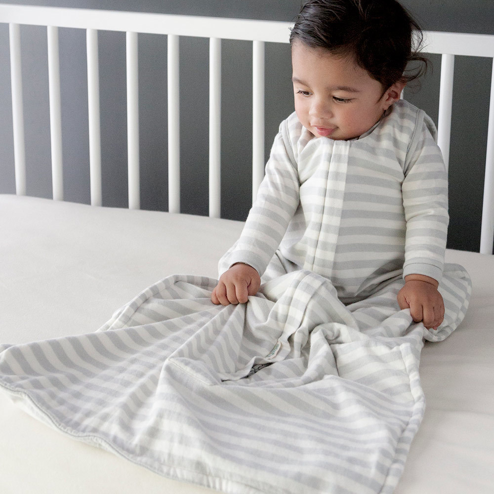 Woolbabe: Summer Weight Sleeping Bag - Pebble (3-24 Months) image