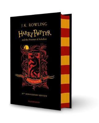 Harry Potter and the Prisoner of Azkaban – Gryffindor Edition (Hardback) by J.K. Rowling