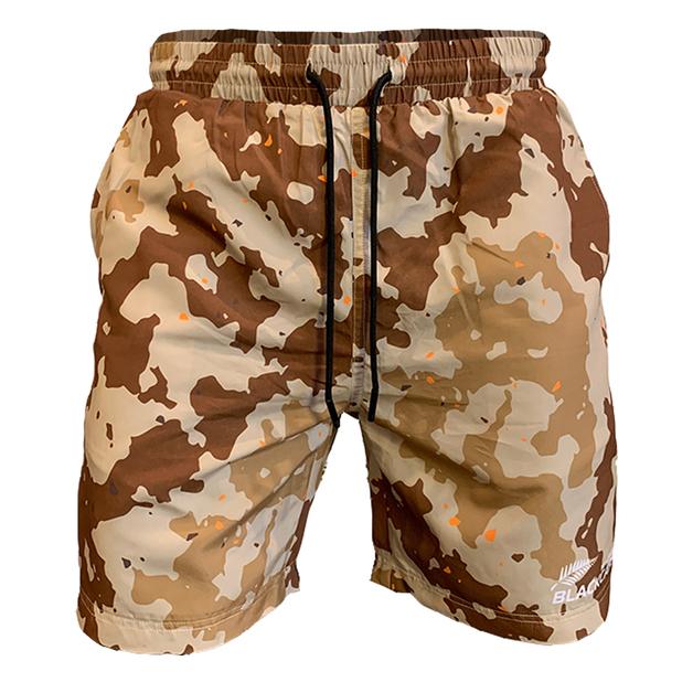 Blackcaps Supporters Camo Shorts (Medium)
