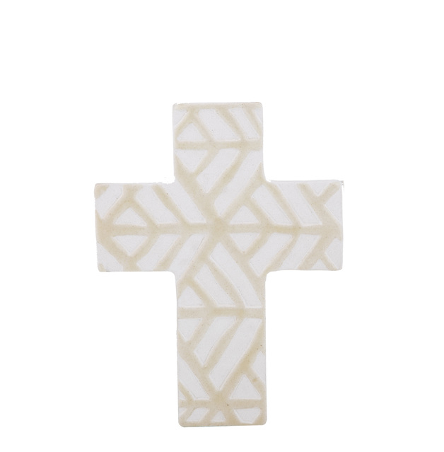 Amalfi: Sierra Cross Sculpture (15x2x20cm)