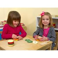 Melissa & Doug: Wooden Sandwich Making Set image