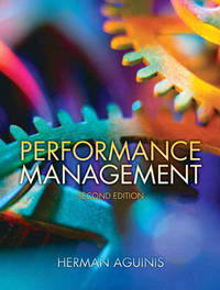 Performance Management by Herman Aguinis image