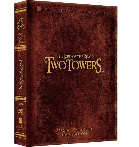 The Lord of the Rings - The Two Towers Extended Edition on DVD image