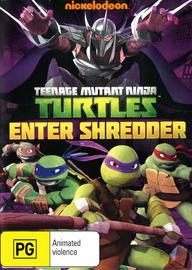 Teenage Mutant Ninja Turtles: Enter Shredder on DVD