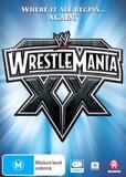 WWE: Wrestlemania 20 on DVD