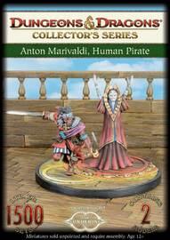 Dungeons & Dragons: Anton Marivaldi, Human Pirate