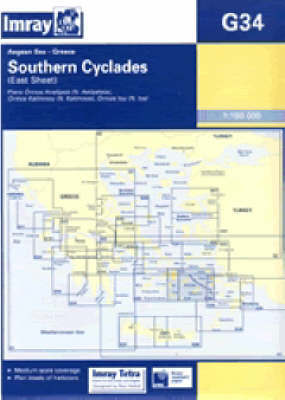 Southern Cyclades: 2007 by Imray