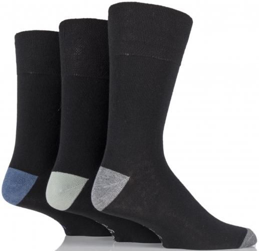 Mens Gentle Grip N/Elastic Socks