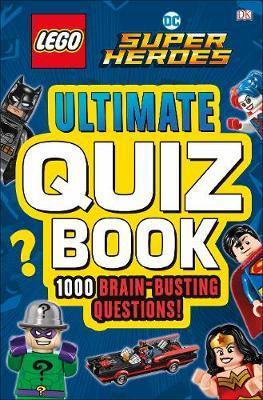 LEGO DC Comics Super Heroes Ultimate Quiz Book by DK image