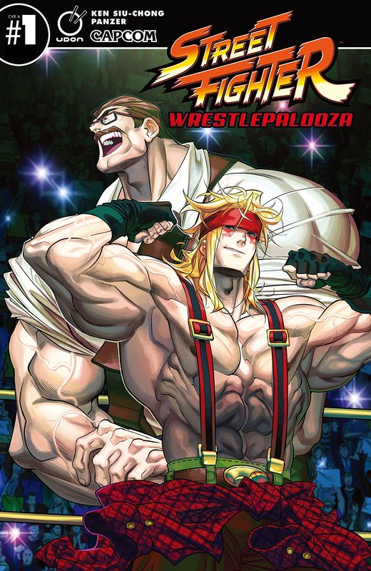 Street Fighter: Wrestlepalooza - #1 (Cover A) by Ken Siu-Chong