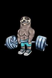 Workout & Food Sloth Notebook by Discipline de Formatio Activity Tracker