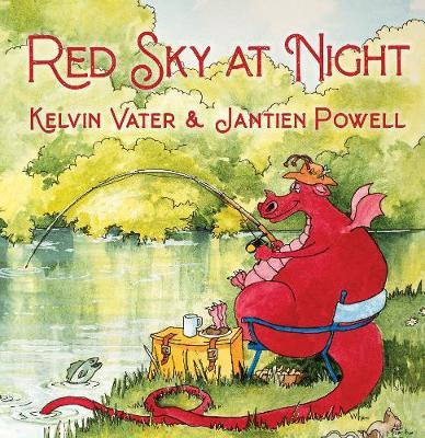 Red Sky at Night Dragon Tales by Kelvin Vater