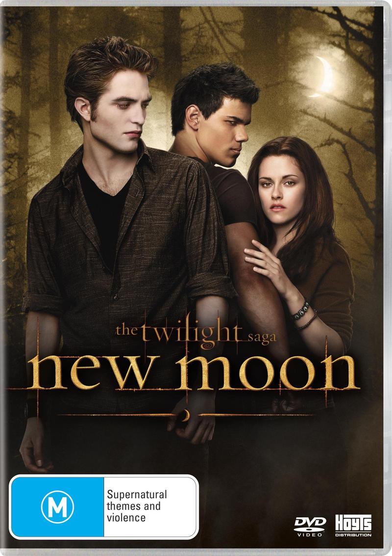 The Twilight Saga - New Moon (Single Disc) on DVD image
