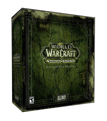 World of Warcraft: The Burning Crusade Collector's Edition for PC Games