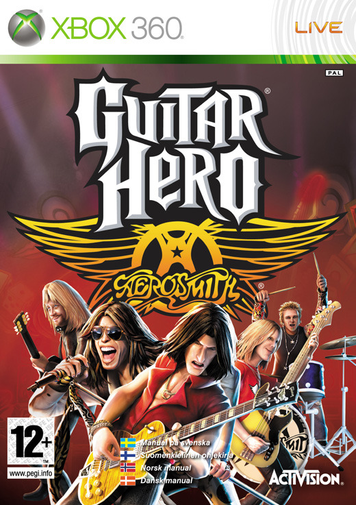 Guitar Hero: Aerosmith (game only) for X360