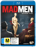 Mad Men - The Complete 5th Season on Blu-ray