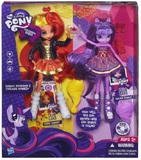 My Little Pony Equestria - Sunset Shimmer & Twilight Sparkle