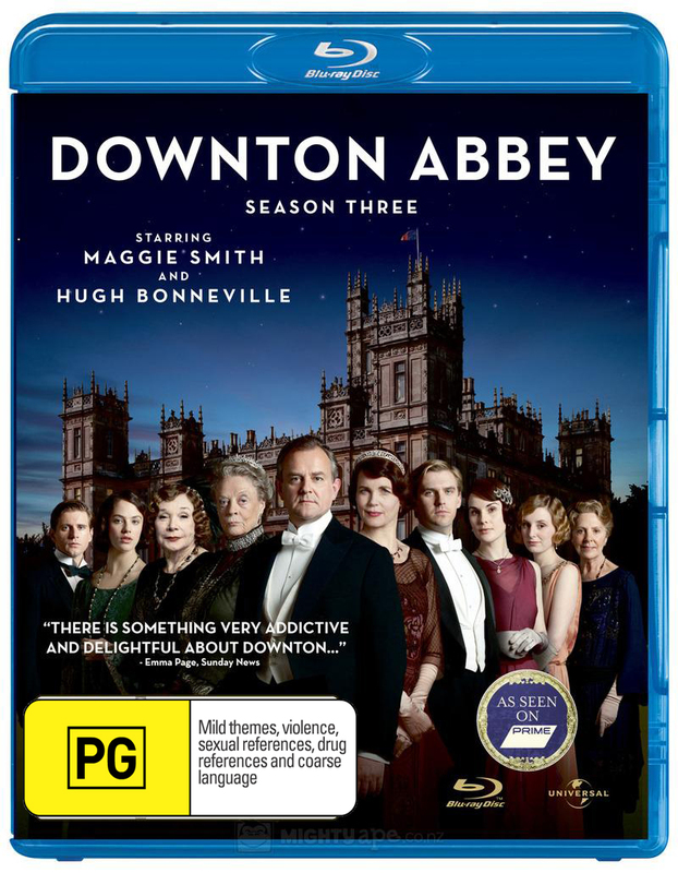 Downton Abbey - The Complete Third Season on Blu-ray