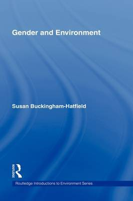 Gender and Environment by Susan Buckingham Hatfield image
