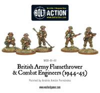 British Combat Engineers & Flamethrower Team