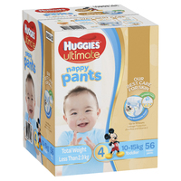 Huggies Ultimate Nappy Pants: Jumbo Pack - Toddler Boy 10-15kg (56) image